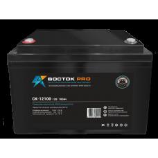 СX-12100 Pro (Восток), 12В, 100 А*ч, гелевая Аккумуляторная батарея