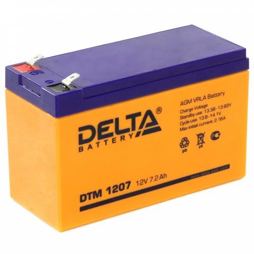 Аккумулятор Delta DTM 1207 (12V / 7Ah, AGM)