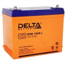 Аккумулятор Delta DTM 1255 L (12V / 55Ah, AGM)