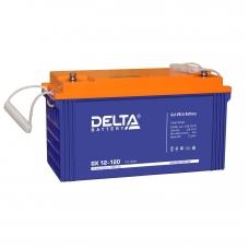 Аккумулятор Delta GX 12-120 (12V / 120Ah)