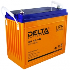 Аккумулятор Delta HRL 12-140 (12В, 140 А*ч, AGM)