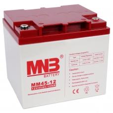 MM 45-12  (MNB), 12В, 45 А*ч, AGM Аккумуляторная батарея
