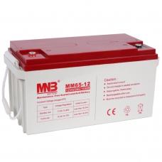 MM 65-12  (MNB), 12В, 65 А*ч, AGM Аккумуляторная батарея