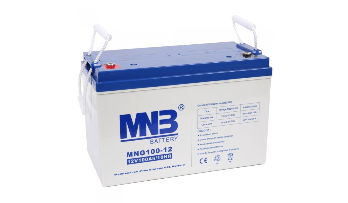 MNG 100-12 (MNG), 12В, 100 А*ч, гелевая Аккумуляторная батарея