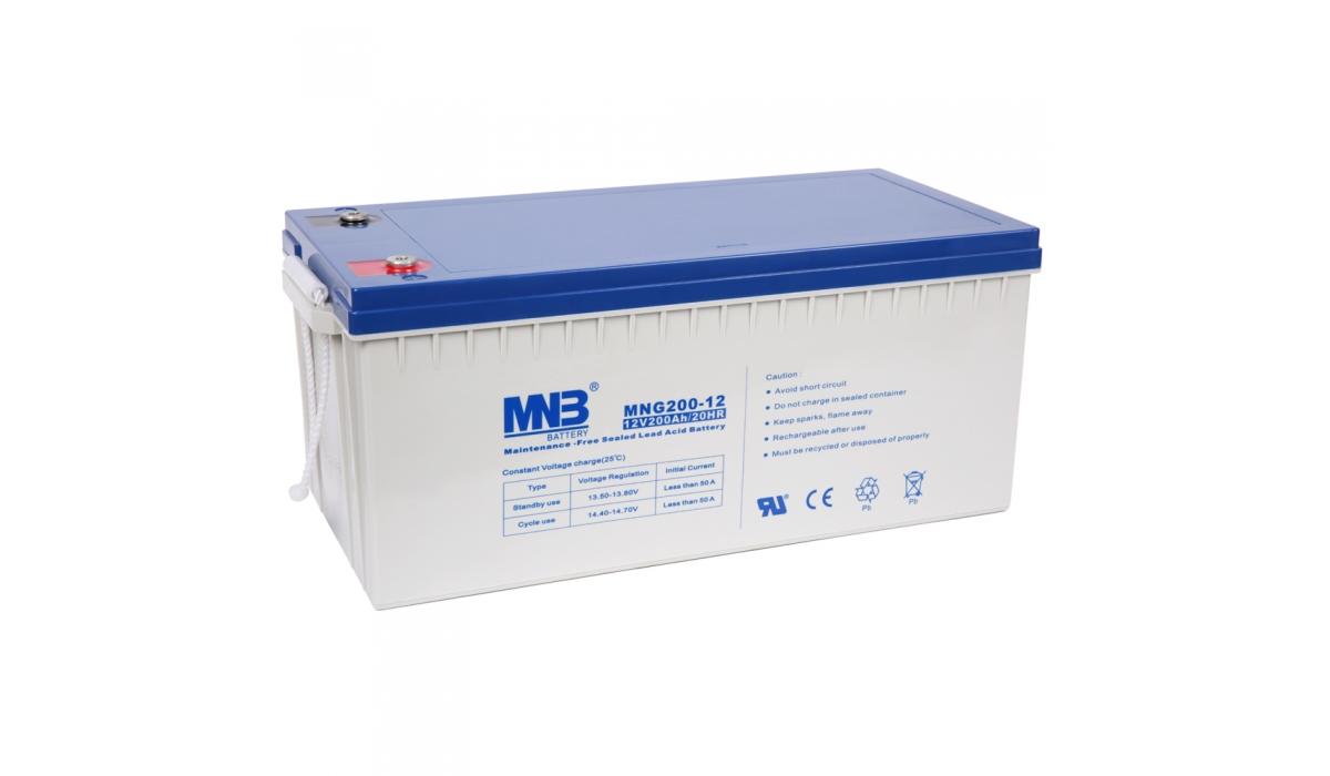 MNG 200-12 (MNG), 12В, 200 А*ч, гелевая Аккумуляторная батарея