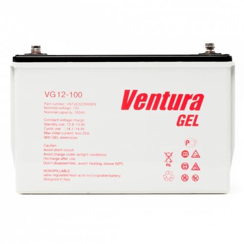 VG12-100 (Venturа) 12 В, 100 Ач,  гелевая Аккумуляторная батарея