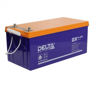 Аккумулятор Delta GX12-200 Expert  (12V / 200Ah)