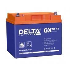 Аккумулятор Delta GX 12-45 (12V / 45Ah)