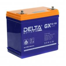 Аккумулятор Delta GX 12-55 (12V / 55Ah)