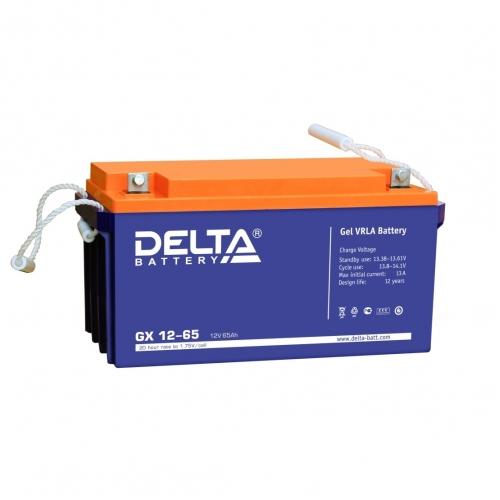 Аккумулятор Delta GX 12-65 (12V / 65Ah)