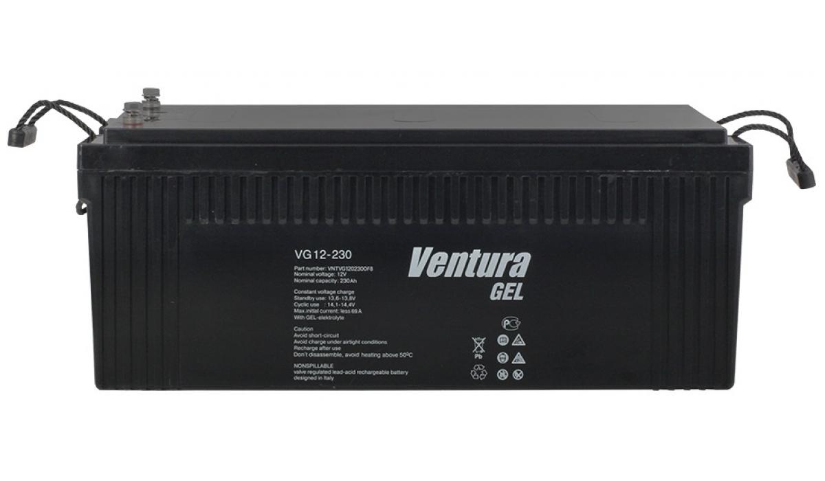 VG12-230 (Venturа) 12 В, 200 Ач,  гелевая Аккумуляторная батарея