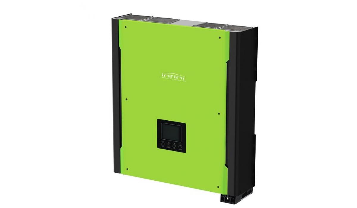 Гибридная солнечная электростанция для дома P=3 кВт, Емкость 800Ач, Солнечная батарея 8*320Вт