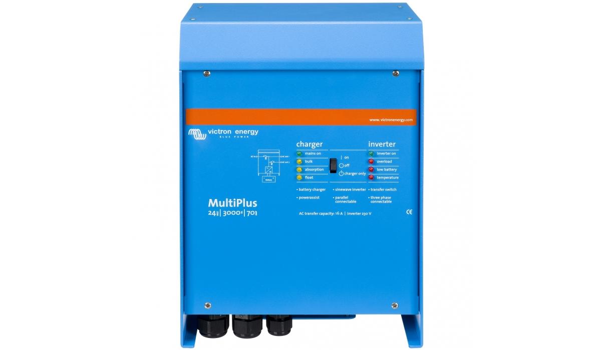 MultiPlus 24/3000/70-50 (Victron Energy), 24В, 3000ВА, 70А  Инвертор c зарядным устройством