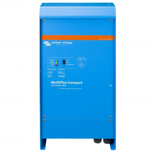 MultiPlus Compact 24/2000/50-30 (Victron Energy), 24В, 2000ВА, 50А Инвертор c зарядным устройством