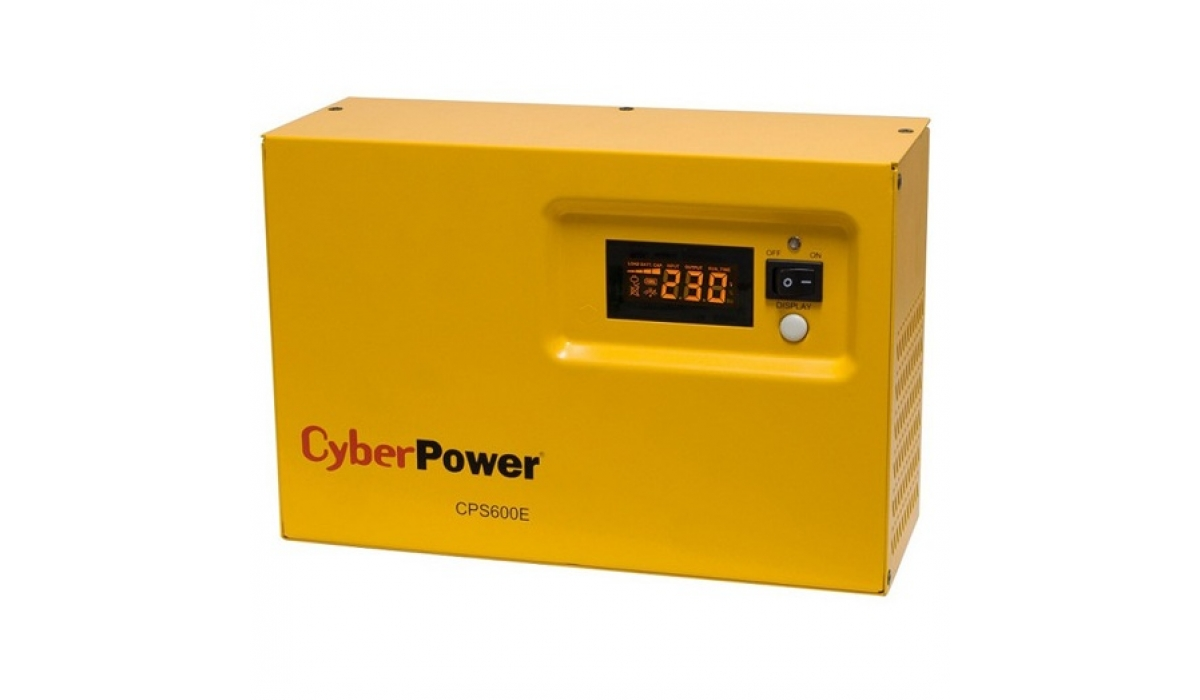 Инвертор / зарядное устройство CPS600E, Cyber Power (400Вт, 12в)  0,4кВт/ 10А