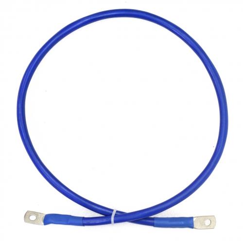 Перемычка аккумуляторная 35 мм2 - 1,0м синяя