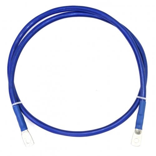 Перемычка аккумуляторная 35 мм2 - 1,4м синяя