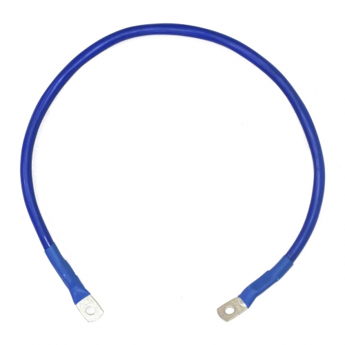 Перемычка аккумуляторная 35 мм2 - 0,7м синяя