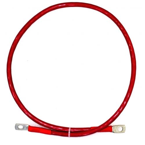 Перемычка аккумуляторная 35 мм2 - 1,0м красная
