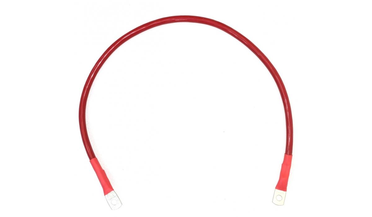 Перемычка аккумуляторная 50 мм2 - 0,7м красная