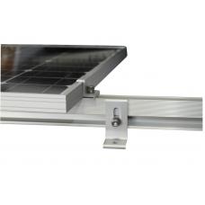 Профиль для крепления солнечных модулей алюминиевый (длина 4,20м)