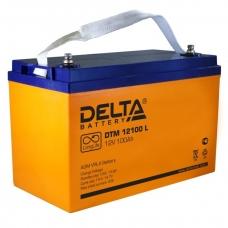 Аккумулятор Delta DTM 12100 L (12V / 100Ah, AGM)