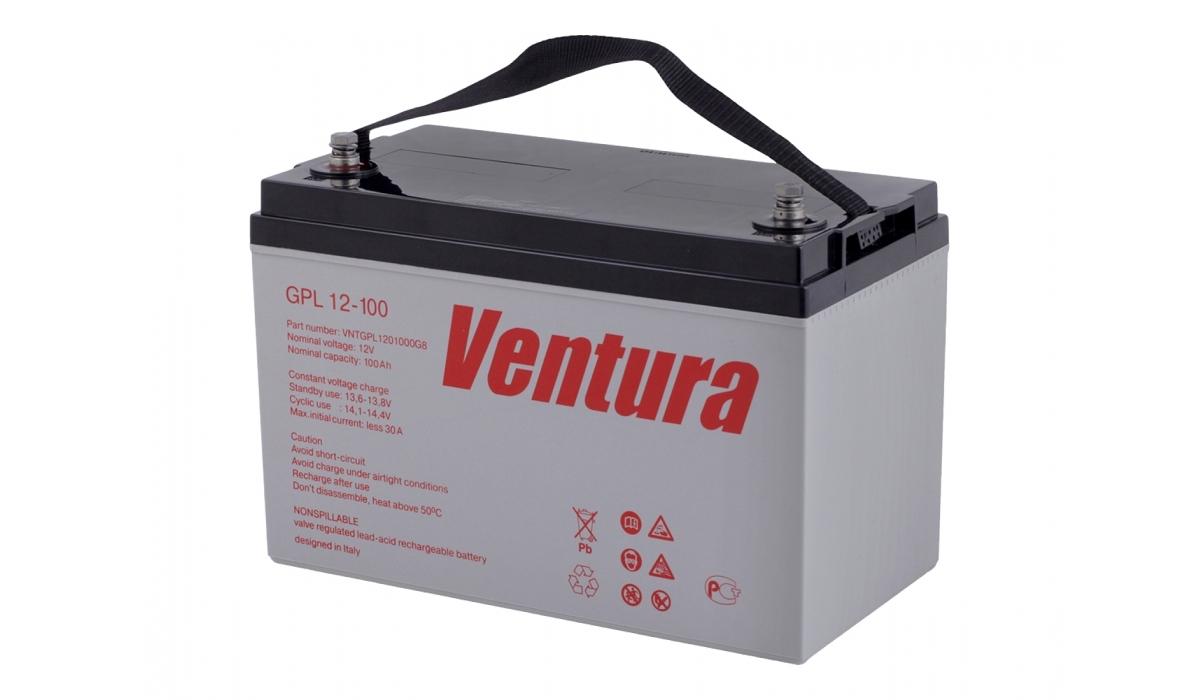 GPL12-100 Ventura 12В, 100 А*ч, Аккумуляторная батарея AGM