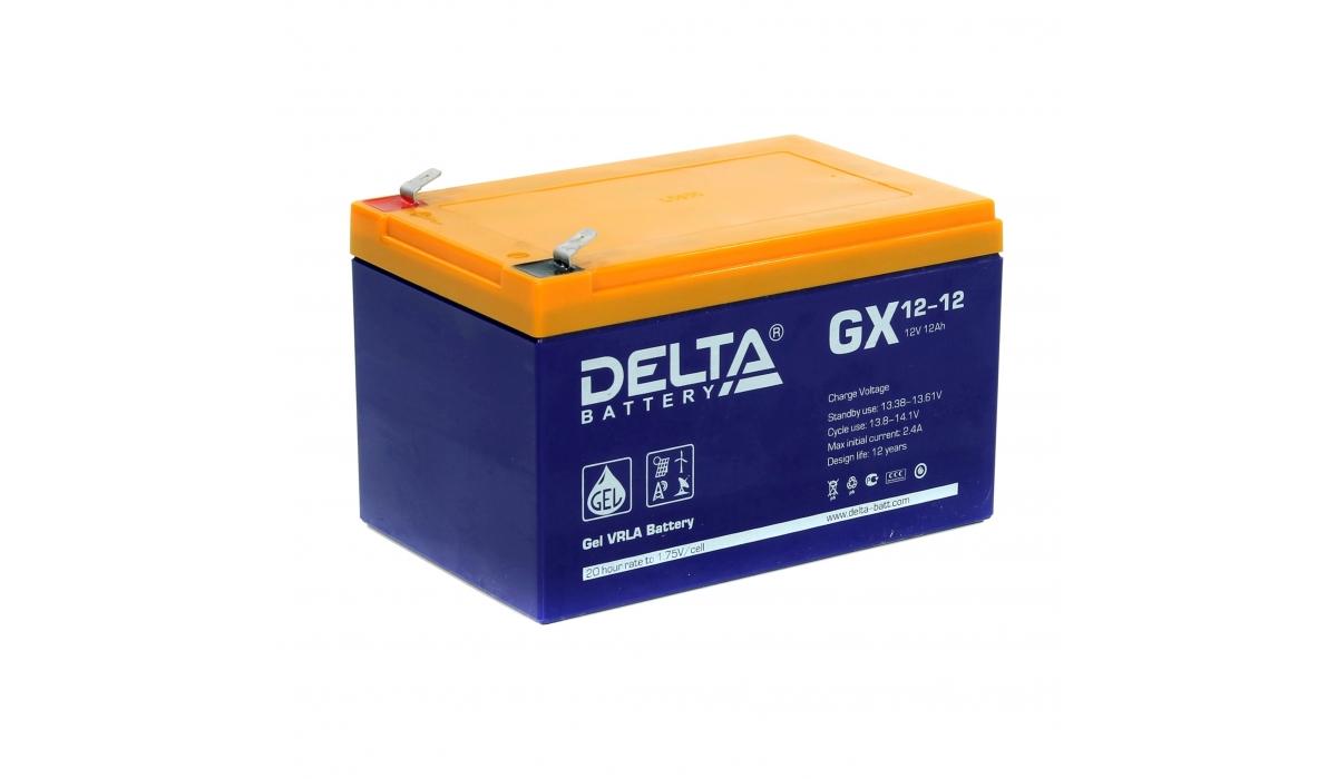 Аккумулятор Delta GX 12-12 (12V / 12Ah)