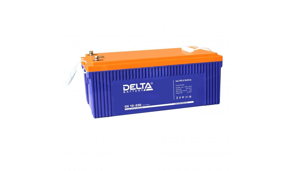 Delta GX 12-230 (12V / 230Ah) Гелевый аккумулятор