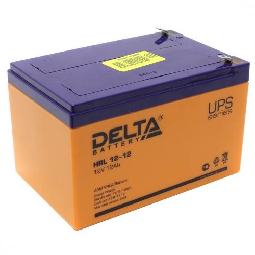 Аккумулятор Delta HRL 12-12 (12В, 12 А*ч, AGM)