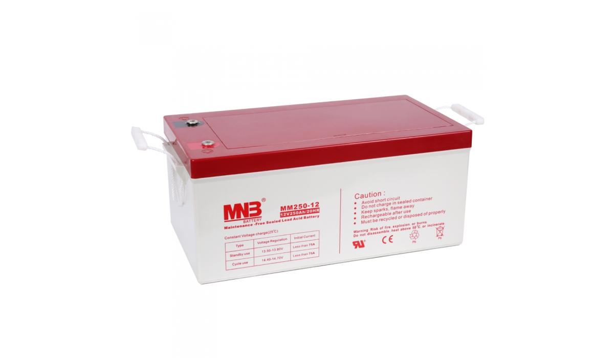 MM 250-12  (MNB), 12В, 250 А*ч, AGM Аккумуляторная батарея
