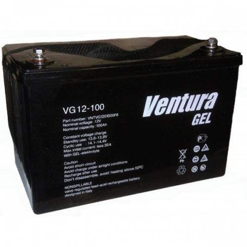 VG12-100 (Venturа) 12 В, 100 Ач,  гелевая батарея (снята с производства)
