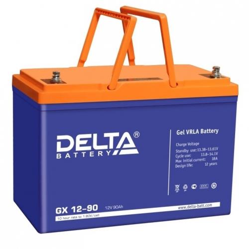 Аккумулятор Delta GX 12-90 (12V / 90Ah)