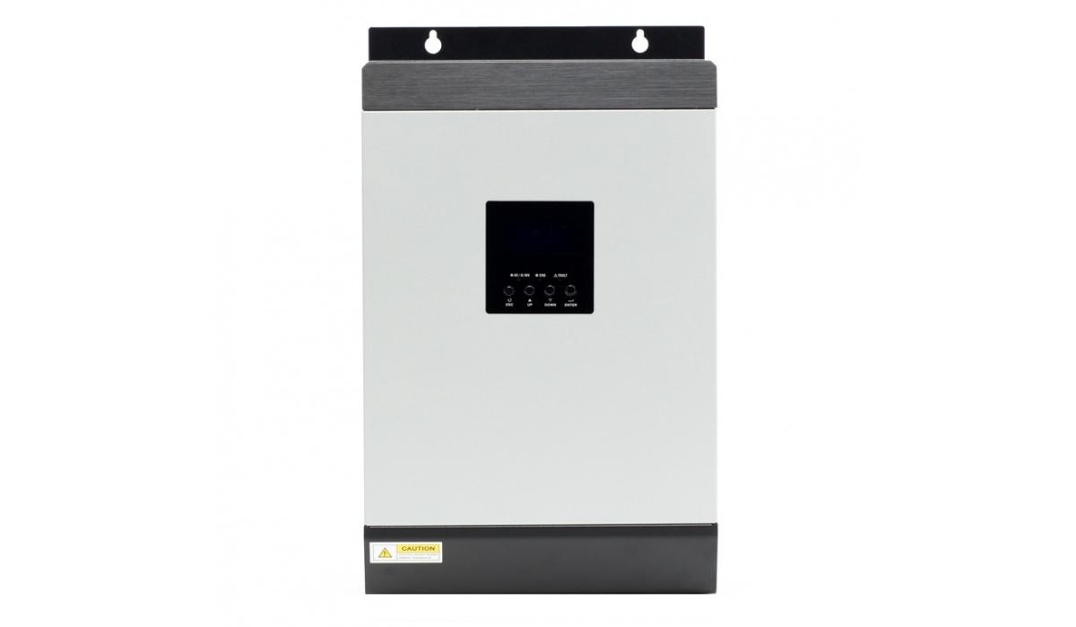 Автономная солнечная электростанция для дома P=4 кВт, Емкость 600Ач, Солнечная батарея 4*300Вт