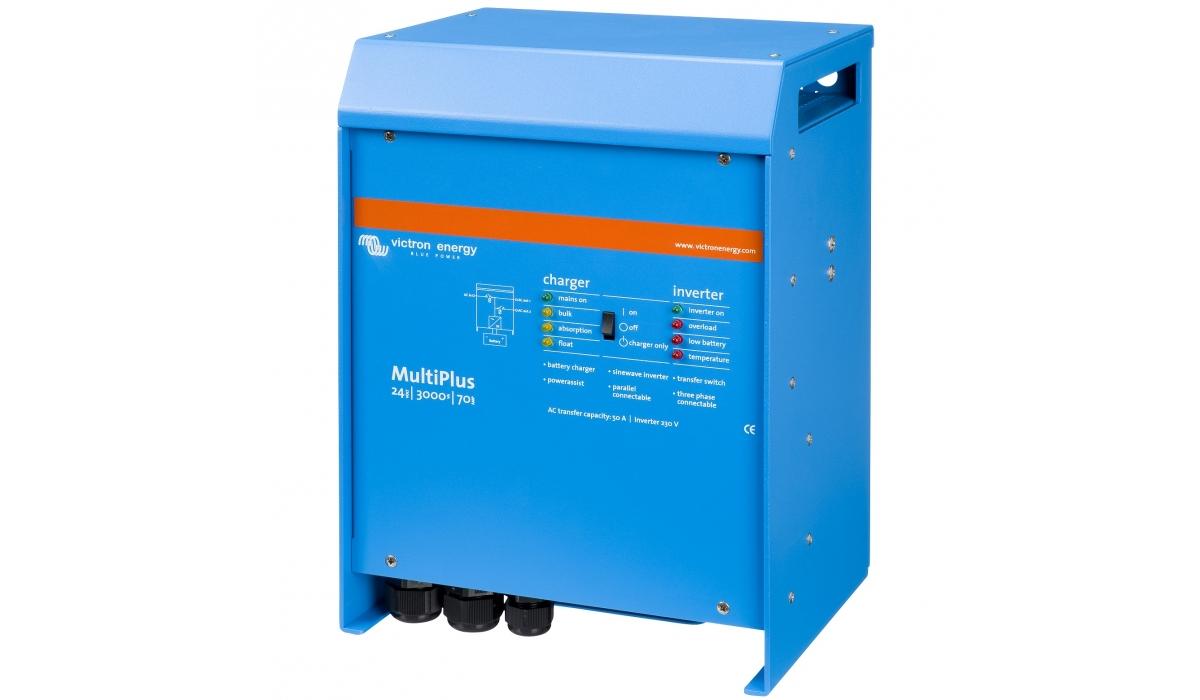 MultiPlus 24/3000/70-16 (Victron Energy), 24В, 3000ВА, 70А  Инвертор c зарядным устройством