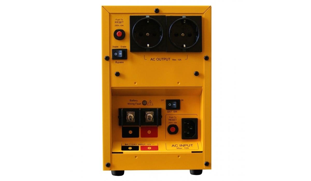Инвертор / зарядное устройство CPS1000E, Cyber Power (1000ВА, 12В)  0,7кВт/ 15А