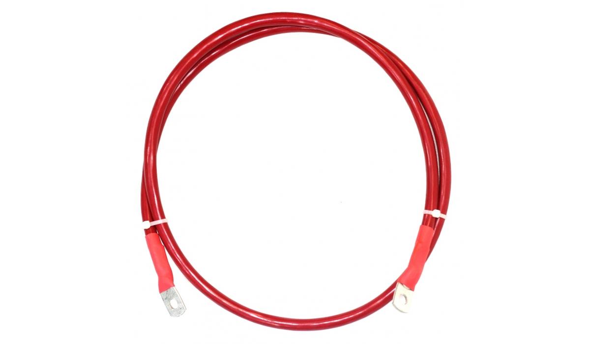 Перемычка аккумуляторная 35 мм2 - 1,4м красная