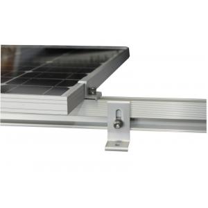 Профиль для крепления солнечных модулей алюминиевый (длина 2,10м)
