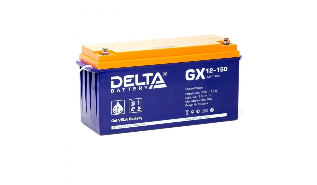 Delta GX 12-150 (12V / 150Ah) Гелевый аккумулятор