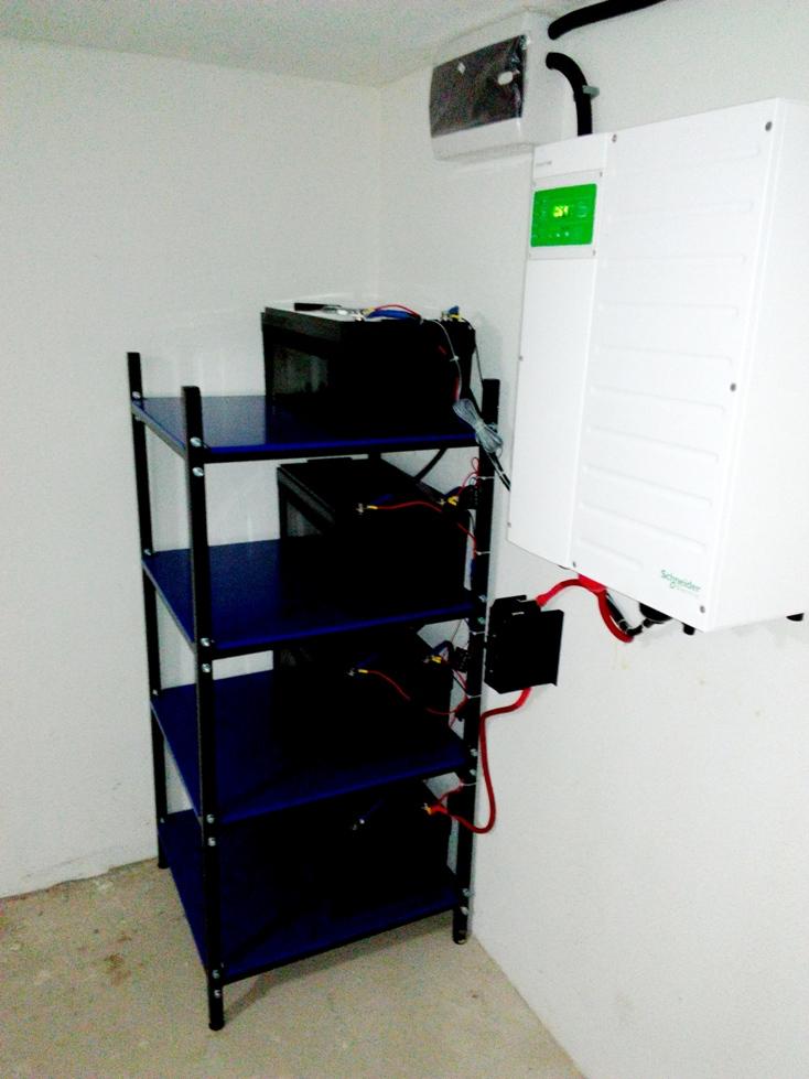Бесперебойное электропитание дома мощностью до 7 кВт